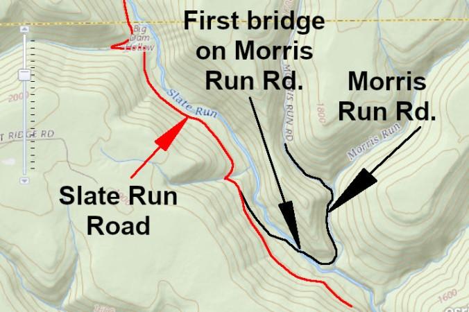 Morris Run Road - Slate Run-A